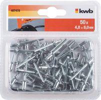 KWB Popnagels 4.8 x 8 mm 50 Stuks
