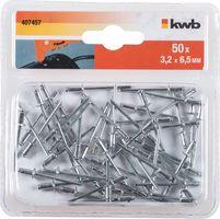 KWB Popnagels 3.2 x 6.5 mm 50 Stuks