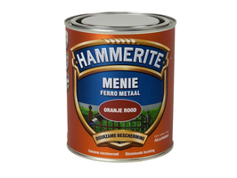 Hammerite Menie Loodvrij Oranje/Rood 750 ml