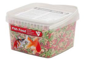 VT Visvoer Budget 3-Kleuren Sticks 2.5 Liter