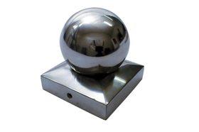 Waelbers Paalornament Met Kogel Aluminium 91 x 91 mm
