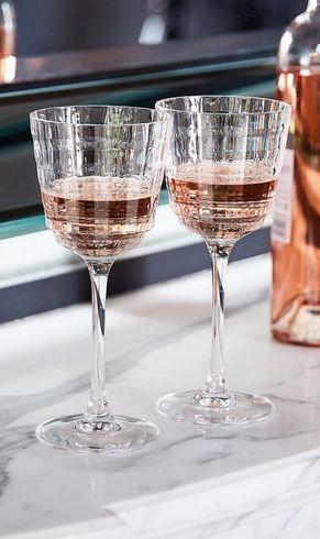 Cristal d'Arques Witte Wijnglazen