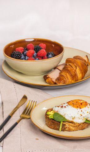 Ontbijtborden