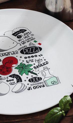 Bormioli Pizzateller