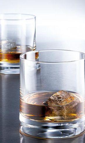 Whiskey glazen