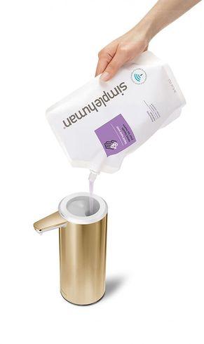 Simplehuman zeep navulling