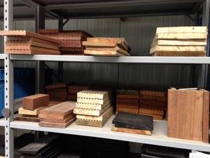 Échantillons de lames en bois ou composite