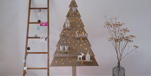 houten kerstboom steigerhout 170 cm met led lampjes
