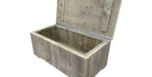 Steigerhout kinderbed 90 x 200 cm steigerhout bed voor kinderen