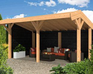 Overkapping Kleine Tuin : Overkappingen van hout bouwpakket terrasoverkappingen kopen