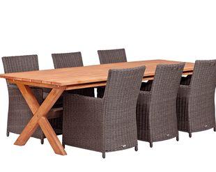 Hardhouten Tuintafel Vierkant.Houten Tuintafels Hardhout Eettafel Tot Steigerhout Tafel
