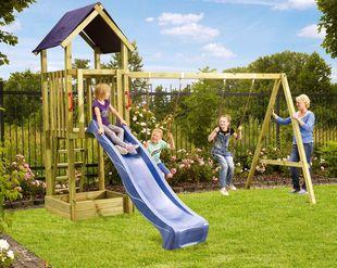 Speeltoestel Kleine Tuin : Houten speeltoestellen kopen online zandbak tot speeltoestel