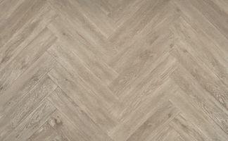 Eiken Pvc Vloer : Floer visgraat pvc vloeren grijsbeige eiken cm wit vloer