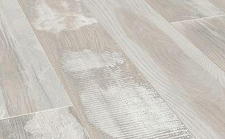 Laminaat Wit Eiken : Floer sloophout laminaat gekalkt wit eiken witte vloer verouderd