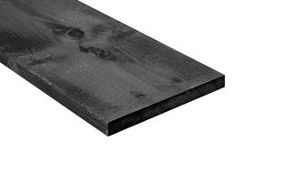 Wandplank Met Lade Zwart.Plank Lariks Douglas Rustiek Zwart Gecoat 25 27 5 Cm Breed