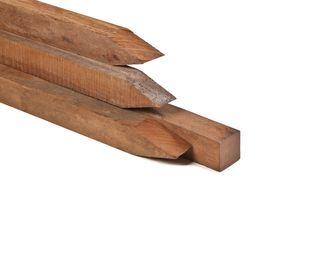 Hardhout balk 4 5 x 7 cm hardhouten liggers 45x70 mm regels for Houten vijverbak