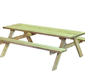 Picknicktafel Vierkant King.Vierkante Picknicktafels Voor 8 Personen Hout