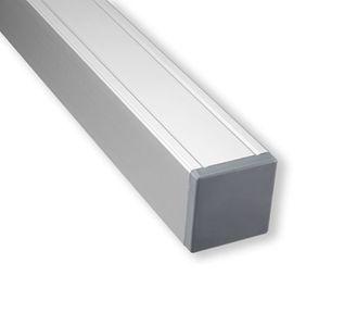 Aluminium vierkante palen