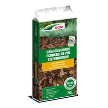 DCM Dennenschors 20 tot 40mm (Grof) - Sierschors van Pinus Sylvestris (70 liter)