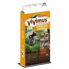 DCM - Vivimus universeel aanplantgrond - 60 liter zak - bodemverbeteraar
