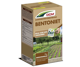 DCM Bentoniet - zandgrondverbeteraar met watervasthoudend vermogen - 2kg