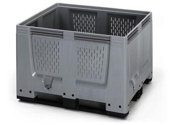 Pallet box ventilatiesleuven met 3 sledes 120 x 100 x 79 cm
