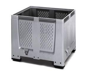 Pallet box ventilatiesleuven met 4 poten 120 x 100 x 100 cm
