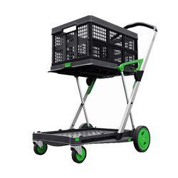 Matador Clax trolley groen inclusief vouwkrat