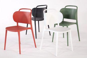Gerecyclede Designstoel Dutch Leverbaar in 4 kleuren