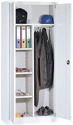 Garderobekast Grijs Met Hang en Leg 2 Deurs Nieuw in 5 Kleur Combinaties