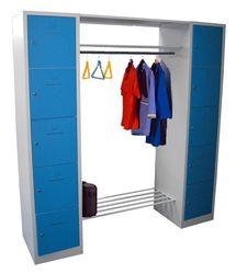 Lockerkast - garderobekast 10 deurs in 2 Kleur Combinaties