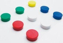 Magneten 30mm Assortiment Whiteboard 10 stuks