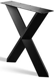 Stalen X Poot Gedraaid | X Poot Gedraaid-onderstel | Industrieel