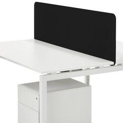 Privacypaneel 200x45cm Zwart