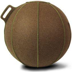 Vluv Zitbal VELT Brown Melange Green 60-65cm