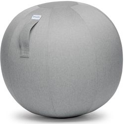 Vluv Zitbal Leiv Silver Grey 70-75cm