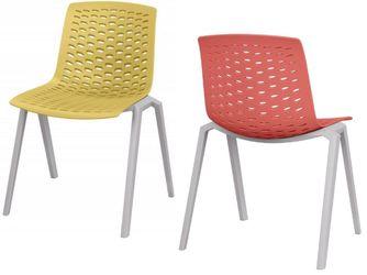 Kantinestoel Design Anagni Leverbaar in 18 Kleur Combinaties