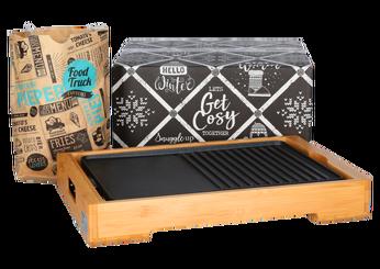 Kerstpakket Bamboo grill voor iedereen