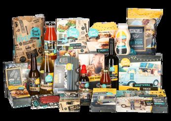 Kerstpakket Food truck festival