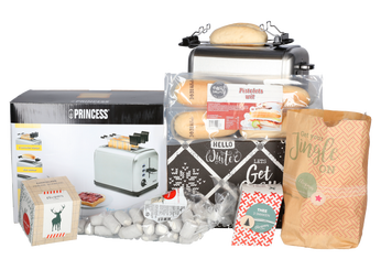 Kerstpakket Toaster pakket