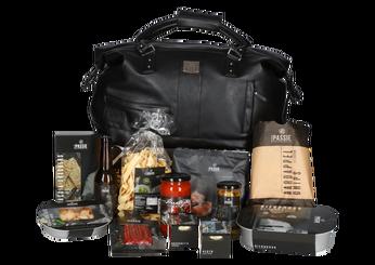 Kerstpakket Xcada tas culinair XL