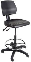 Werkstoel De Luxe Hoog Met Voetring