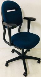 Gebruikte Bureaustoel Ahrend 220 Blauw