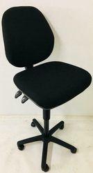 Gebruikte Baliestoel Werkstoel Industriestoel Zwart