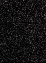 Droogloopmat op maat Zwart
