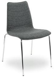 Middengrijs Designstoel
