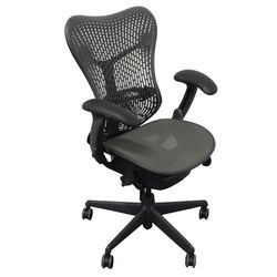 Herman Miller Mirra Bureaustoel Antraciet Refurbished