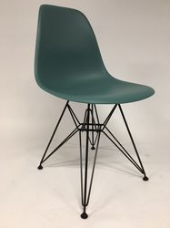 Vitra Eames DSR Plastic Side Chair Ocean