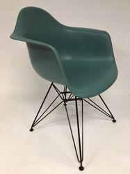 Vitra Eames DAR Plastic Side Chair Ocean