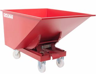 Zelfkieper Kiepcontainer 1030 L Laadvermogen 2 T Nylon Wielen